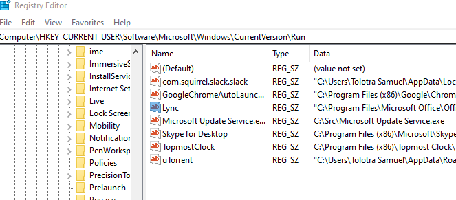 Prevent unwanted program to run at startup  Clean up Windows